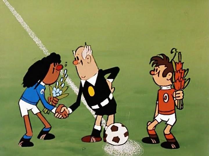 Футбол мультфильм картинки