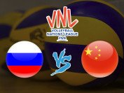 """Волейбол. """"Россия"""" - """"Китай"""