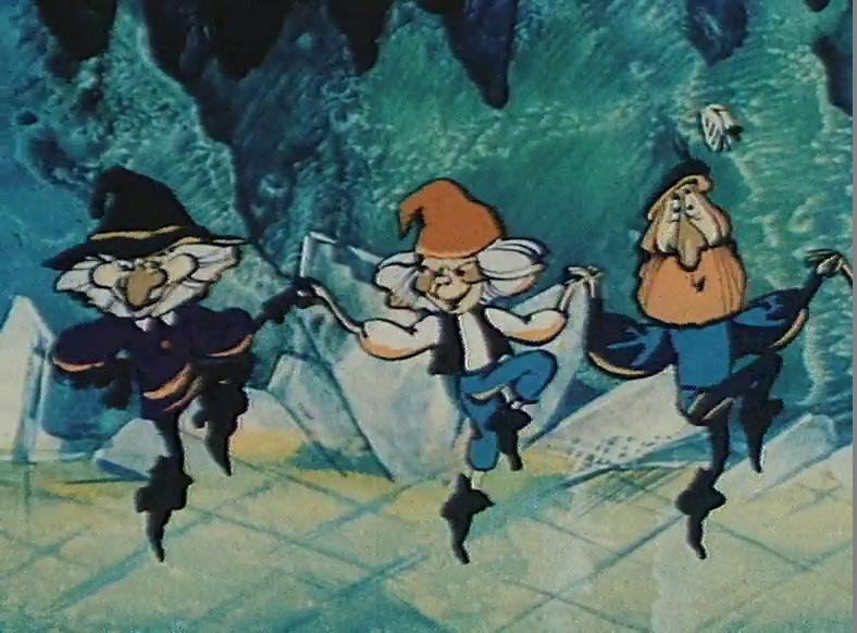 рисунок гномы в пещере горного короля менеджеров