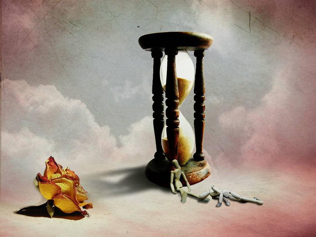 Время уходит рисунок