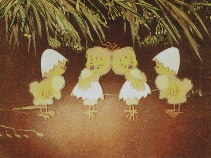 Цыплята танцуют картинки